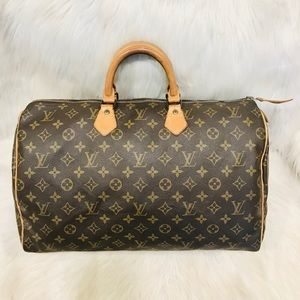 Authentic Louis Vuitton Speedy 40 #4.3aja